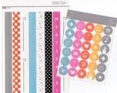 Studio Calico   Frankie   Planner Kit Stickers Lot