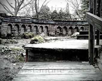 RIP St Francis Park, SE Portland, OR new original urban photography