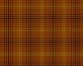 Buggy Barn Yarn Dye Basics by Henry Glass - Copper and Gold Plaid (7081Y-33) - 1 Yard