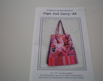 Cape Cod Carry-All tote pattern