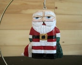 BALD SANTA ORNAMENT