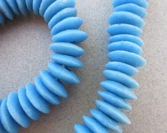 Blue Ashanti Glass Beads