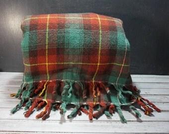 Plaid Condon's Wool Blanket