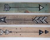 Rustic Wooden Arrows - 3 Piece Set, Rustic Decor, Farmhouse Decor, Arrow Decor, Rustic Nursery Decor, Gallery Wall Decor, Wooden Arrow