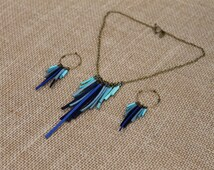 Fringe Suede Necklace
