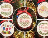5-PACK - 2015 Ornaments Instant Patterns