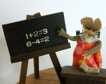 Little Mice at School / Vintage