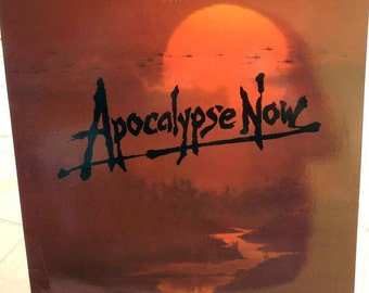 Vintage Apocalypse Now Movie Soundtrack LP Record Vinyl 1979 Rare