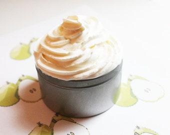 Pear Whipped Soap - Scented Soap - Homemade Soap - Vegan Soap - Glycerin Soap - Cream Soap