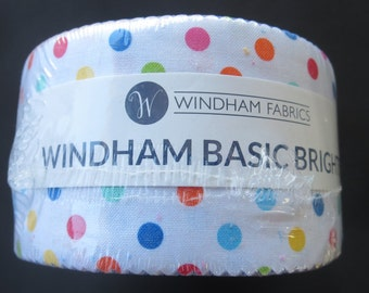 Windham Basic Brights - Jelly Roll