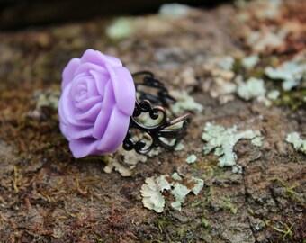 X-Grande Lavender Rose Ring