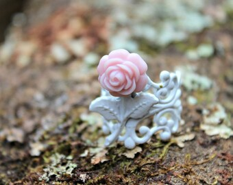 Chico Pink Rose ring