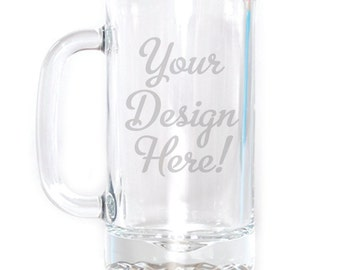 Customized Small Beer Mug - 16 oz. - 8519 Your Design Here!