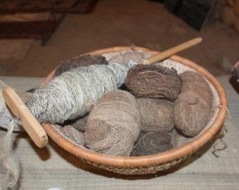HandSpun Natural Camel  Wool Yarn