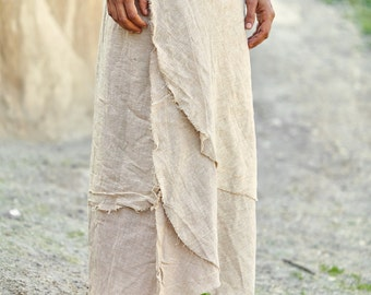 Wrap Skirt ~ Natural Color