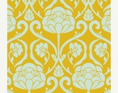 ON SALE - Jacquard in Marigold (BE-6102) - Bespoken by Pat Bravo for Art Gallery Fabrics - By the Yard