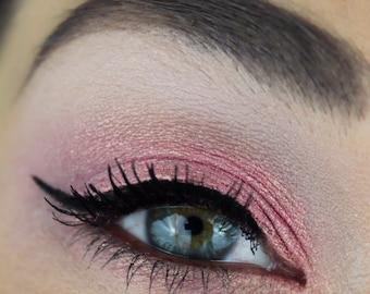 Pink & Gold Duochrome Eyeshadow -- Natural Eye Shadow Makeup Mineral Glitter Eyeshadow -- Pink Eyeshadow