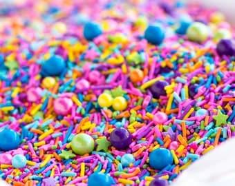 PIÑATA (GF) Sprinkle Medley, Gluten-Free, Sprinkle Mix, Fiesta Theme, Canadian Sprinkles