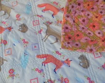 Foxy Little Baby Quilt