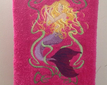 Mermaid Bathroom Hand Towel