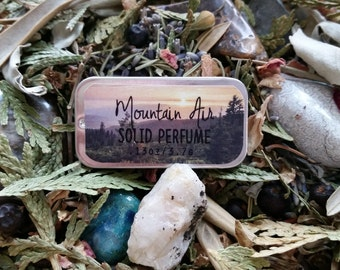 Mountain Air Solid Perfume by Sweetfire Road