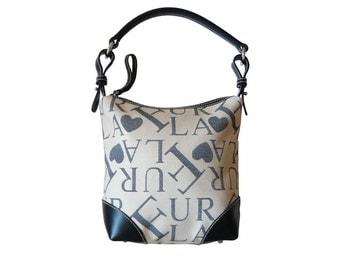 Furla Signature Petite Mini Hobo Bag Made in Italy