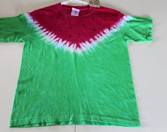 Juicy Watermelon Tie Dye Kid's Tee Shirt