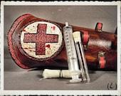 Leather bracer - Nurse -