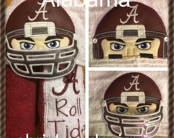 Alabama hooded towel