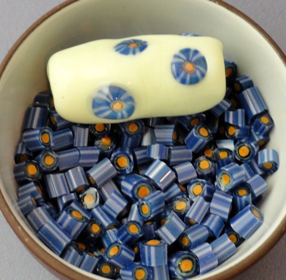 Basket Weaving Supplies Sacramento : Murrini chips blue lake lampwork supplies murrine coe