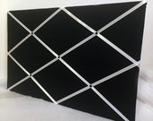 Black and white ribbon Memory Board French Memo Board OR customize your own colors