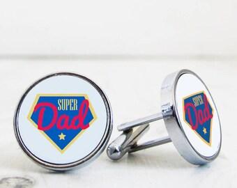 Super Dad Cufflinks