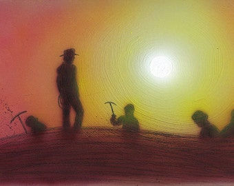 Indiana Jones: Sunset at Tanis