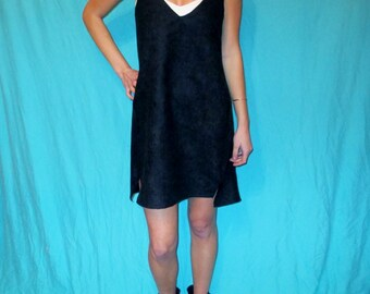 Suede, Black Game Day Dress Tailgate in Style