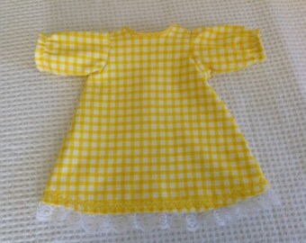 "16 "" Doll Clothes, doll nightgown, 16 inch doll clothes"