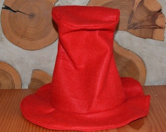 Sam I Am Inspired Hat All Red Dr. Seuss Hat