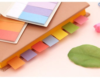 Set of 100 Masking Tape Lovely Cute Pastel - Post It - Memo Notes - Masking Stickers - 100 Paper Stickers
