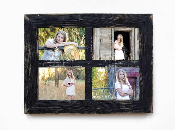 2 4 Hole 8x10 Barn Window Collage Picture
