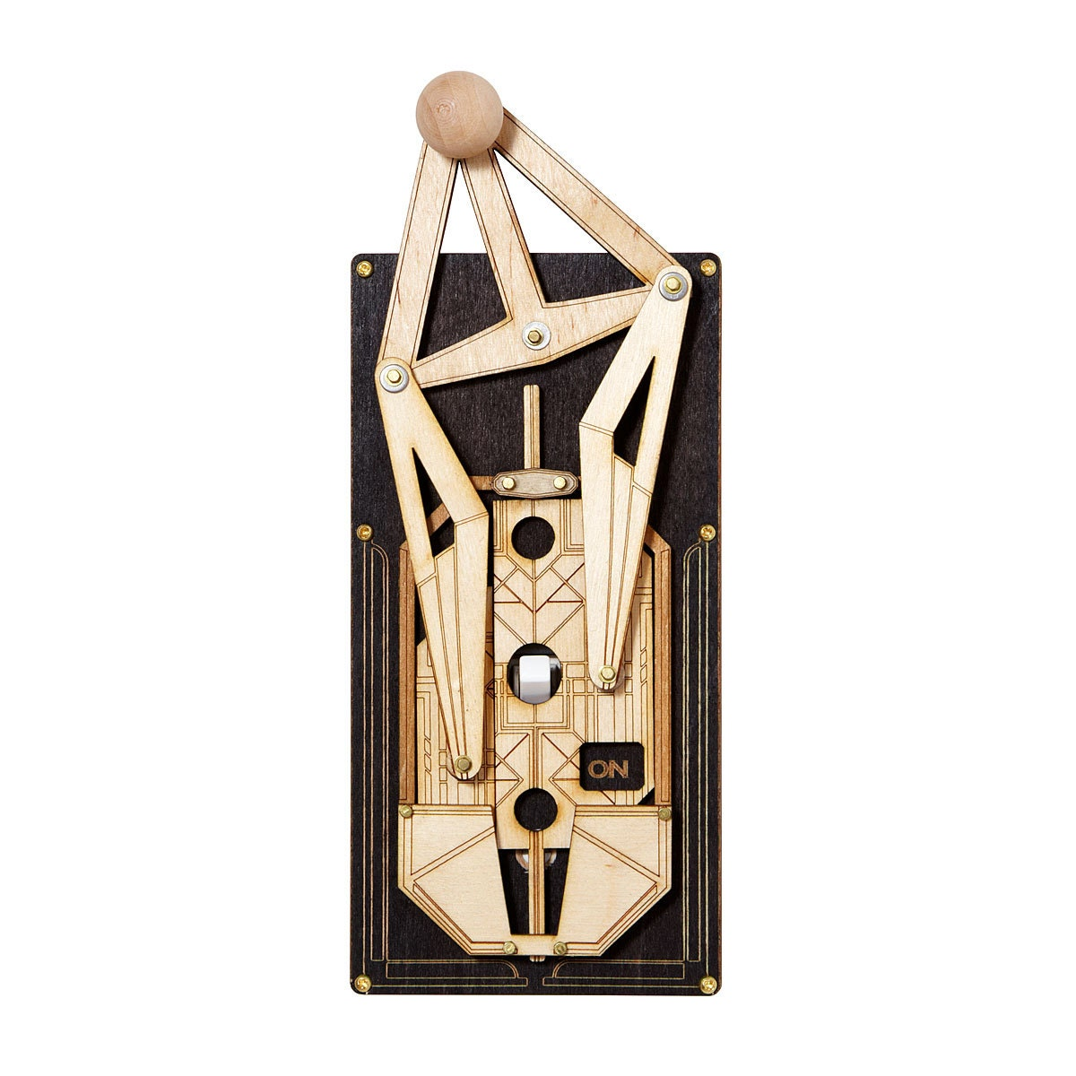 Art deco light rig switch plate - Art deco switch plate covers ...