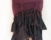 Women's Ruffle Frill Skirt - festival clothing