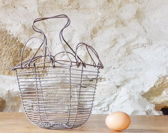 French wire Egg Basket Salad lamp shade