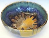 Radiant sunburst bowl