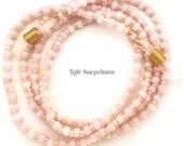 Rose Quartz Pink Luster Glasses Leash GL2587
