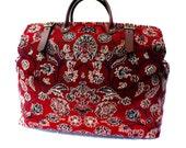 Weekender / Overnight / Carry on / 'Carpet' Travel Bag