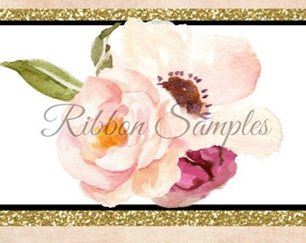 Ribbon Swatch Card