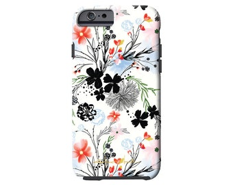 LONGWEEKEND BLUES dainty floral iPhone 6/6s, iPhone 6/6s PLUS,  iPhone 5/5s case, Samsung Galaxy S6