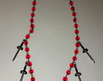 Blood and Swords Necklace
