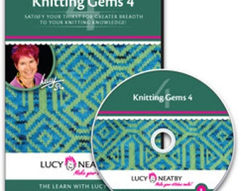 On SALE: 50% OFF! Lucy Neatby's Knitting Gems 4 DVD