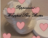 Peppermint E/O-Whipped SHEA BUTTER-by Happy Goat