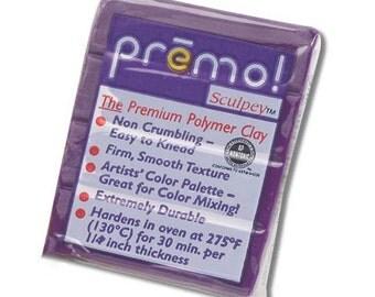 SALE Purple Premo Sculpey Oven-Bake Polymer Clay, 2 oz